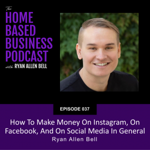 How to make money on instagram, on facebook, and on social media in general