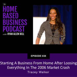 Starting a business from home after looking everything in the 2006 market crash